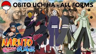 Obito Uchiha - All Forms & Character Growth