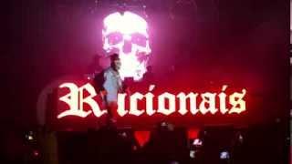 Racionais Mc's - Festa do Balanço Rap - Entrada do show
