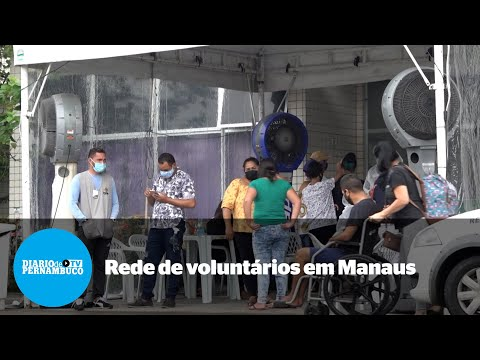 Rede de voluntários faz diferença em Manaus