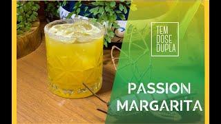 Drink com Tequila - PASSION MARGARITA