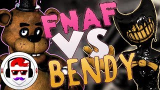 Five Nights At Freddy's vs Bendy and the Ink Machine Rap Battle | Freddy vs Bendy 4 | Rockit Gaming