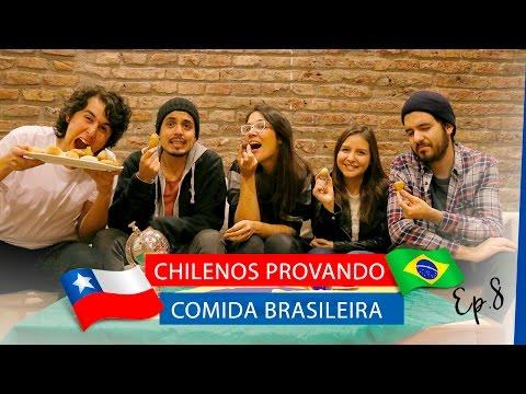 Chilenos provando Comida Brasileira - Ep. 8 | La Mirada Chilena