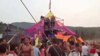 AJJA live @ Ozora one day in israel by Groove attack israel