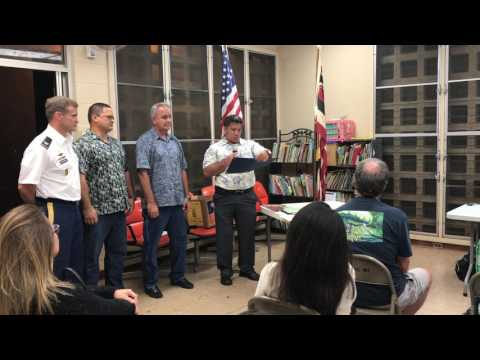 Wahiawa Neighborhood Board, Feb. 28