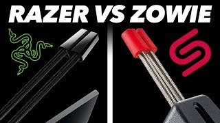 Razer Vs. Zowie: We Found The BEST Mouse Bungee For Fortnite / CS:GO