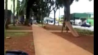 Aline + Rapha na Praça do Assai
