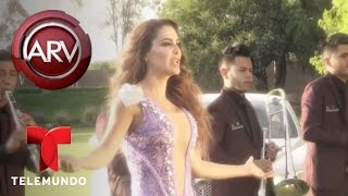 Ninel Conde grabó videoclip con Fidel Rueda | Al Rojo Vivo | Telemundo