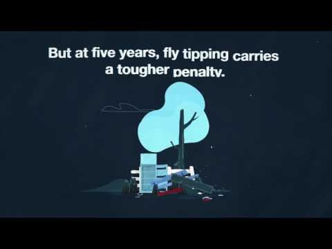 Fly tipping carries tougher penalties than animal cruelty. #NotFunny