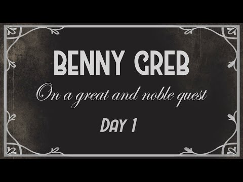 Benny Greb: On a great and noble quest - DAY ONE
