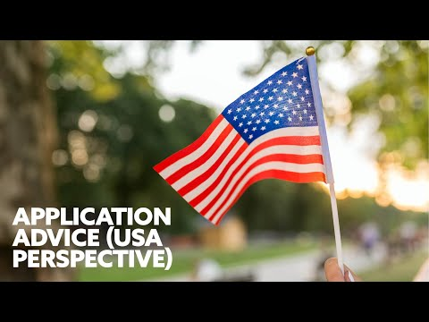 Application Advice – A USA Student Perspective