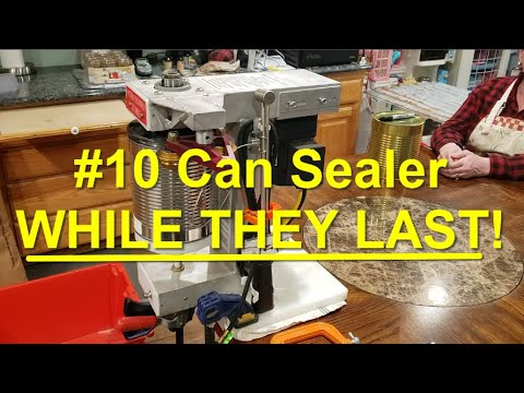 #10 Can Sealer Machines for Sale