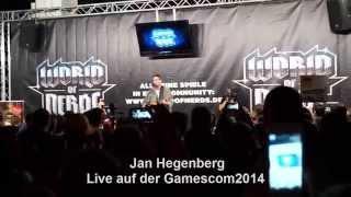 Jan Hegenberg Live auf der Gamescom 2014 [HD - MaddiX]