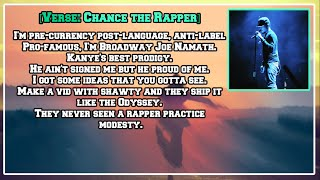 Chance the Rapper - Blessings (Reprise) [Lyric Video]