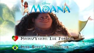 Portuguese Mix: Portuguese Moana + Brazilian Maui | O oceano insiste (Ocean insists)