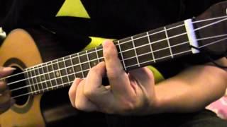 ukecat - 周星馳電影(西遊記-西遊)插曲-盧冠廷(一生所愛) ukulele finger