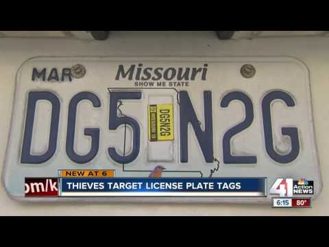 How to prevent vehicle renewal sticker theft