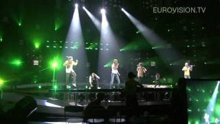 Sunstroke Project & Olia Tira's first rehearsal (impression) at the 2010 Eurovision Song Contest