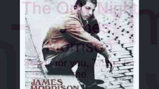 The Only Night - James Morrison