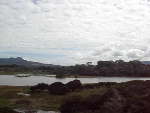 Nicaragua — View of Lago Apanas from Finca El Peten