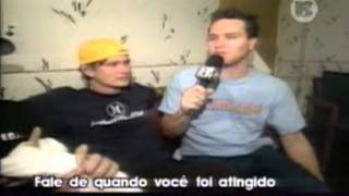 Blink 182 Interview, Boyband, MTV Brazil xx.xx.2000