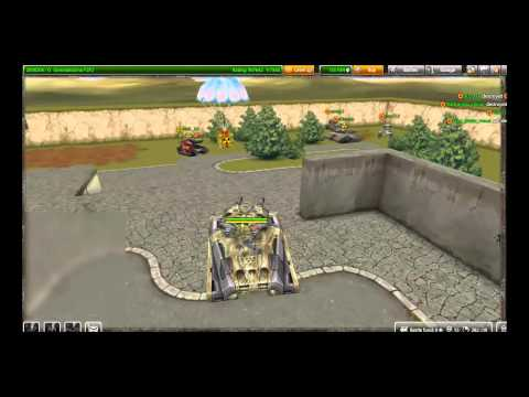 Tanki Online Test Server Game Play HD