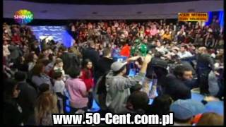 "50 Cent w/ Tony Yayo & Lloyd Banks performing "" P.I.M.P "" live @ turkish TV [HD]"