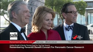 Andrea Bocelli & Renée Fleming Duet For The First Time At Remembering Pavarotti Benefit