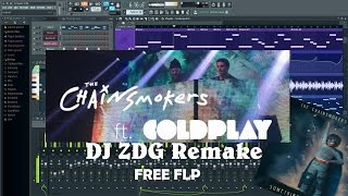 The Chainsmokers & Coldplay - Something Just Like This (FL Studio Remake/Free FLP )