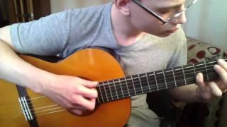 Rammstein - Ein Lied (cut Cover). Klassische Gitarre. Mit Tabs.