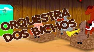 A ORQUESTRA DOS BICHOS - faixa do DVD ATCHIM & ESPIRRO e A Turma da Casa de Chocolate