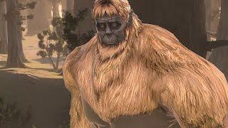 Attack on Titan (PS4) - The Ape Beast Gold Titan Fight (Super Saiyan Titan)