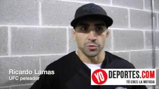 Ricardo Lamas vive su sueño