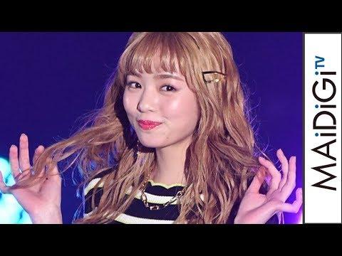 横田真悠、ドラマ「3年A組」出演の人気モデル 金髪&ミニワンピでガルアワに