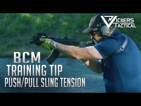 BCM Training Tip - Push/Pull Sling Tension 4k