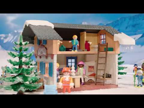 PLAYMOBIL presenteert de wintersportvakantie met de hele familie! (Nederland)