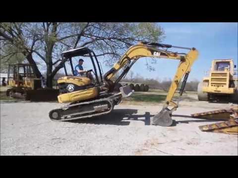 2004 Caterpillar 305CR compact excavator for sale | no-reserve Internet auction April 13, 2017