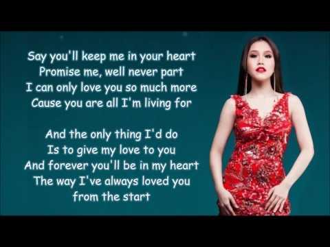 From The Start de Rachelle Ann Go Letra y Video
