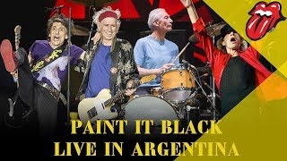 Paint It Black - Live In Argentina - América Latina Olé