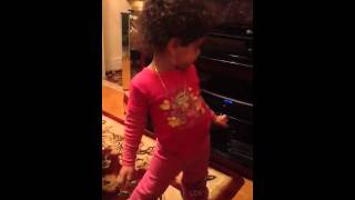 Mya dancing to LMFAO