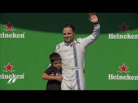 Felipe Massa's Emotional Final Race in Brazil   2017 Brazil Grand Prix