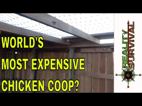 The world's most expensive chicken coop!