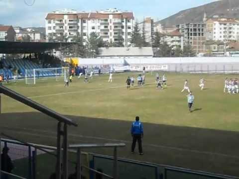 Bozüyükspor - Kahramanmaraşspor Berkan Emir'den Müthiş Frikik Golü
