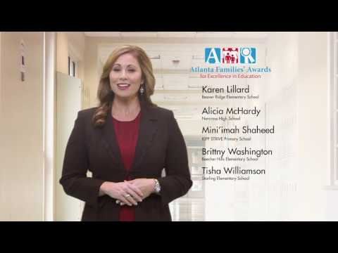 2016 Atlanta Families Award for Excellence in Education