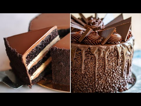 Indulgent Chocolate Cake Recipes | Delicious and Easy Chocolate Cake Tutorials | Satisfying Dessert