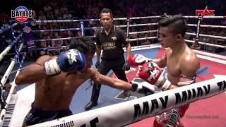 Highlight YODDOY vs WASINCHAI | July 21, 2017 | Muay Thai Battle