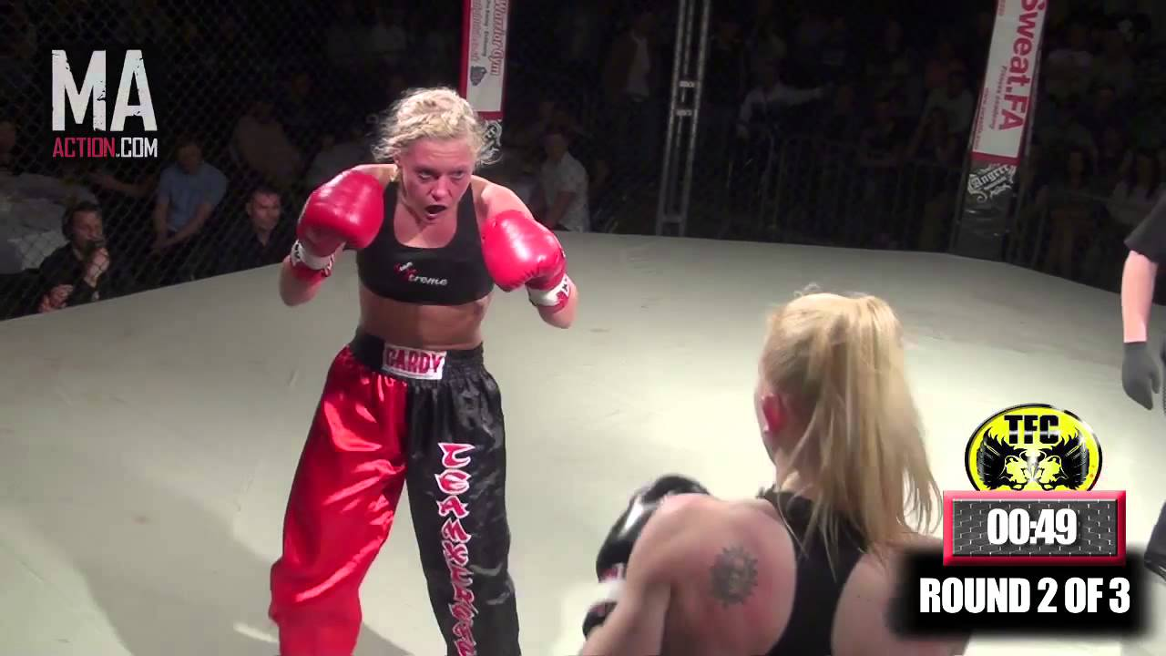 TOTAL FULL CONTACT: Zoe Card vs Zoe Hackwood (KB)