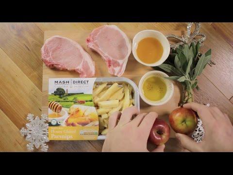 12 Veg of Christmas - Sweet Pork & Parsnip Bake