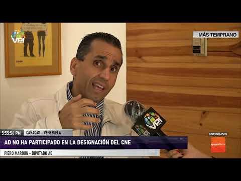 Caracas - Diputado Maroun descartó que AD haya participado en designación del CNE - VPItv
