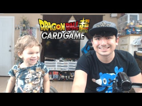 Super Saiyan Sibling's Day! | Opening Dragon Ball Super Union Force Packs With Lukas #4