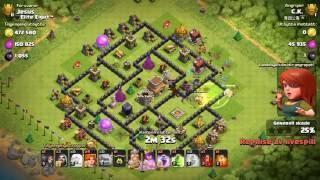 Clash of Clans - TH8 Titan Live Defences